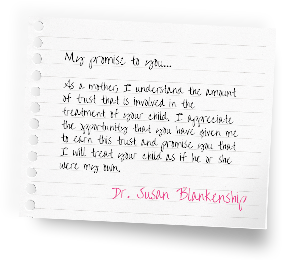 my promise to you by dr susan blanketship